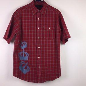 Sean John 100% Cotton Size Large Shirt